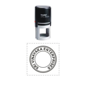 Self Inking Round Stamps