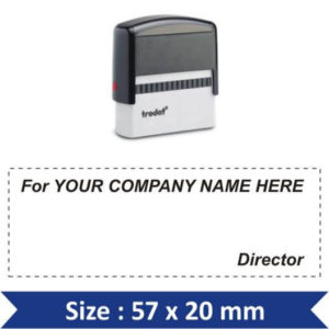 Self Inking Stamp 18