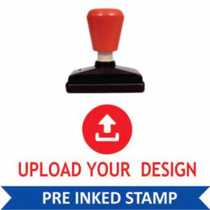 Custom Pre Inked Stamps