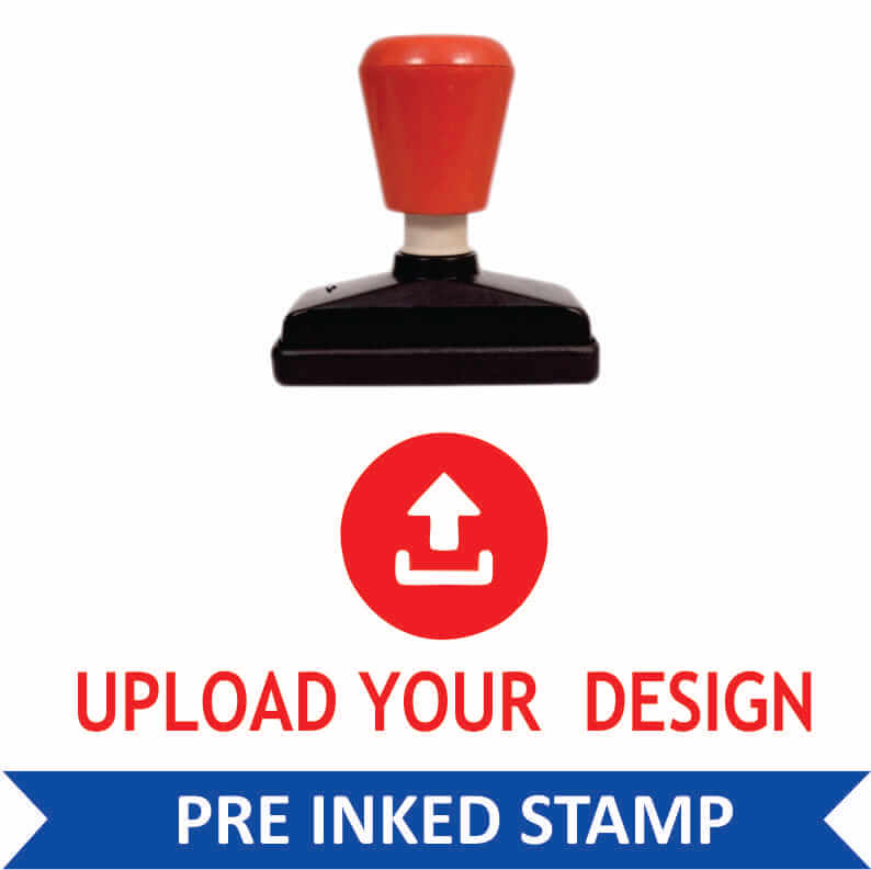 Custom Pre Inked Stamps