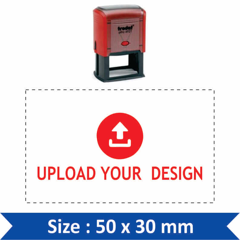 Custom Self Inking Stamp 03