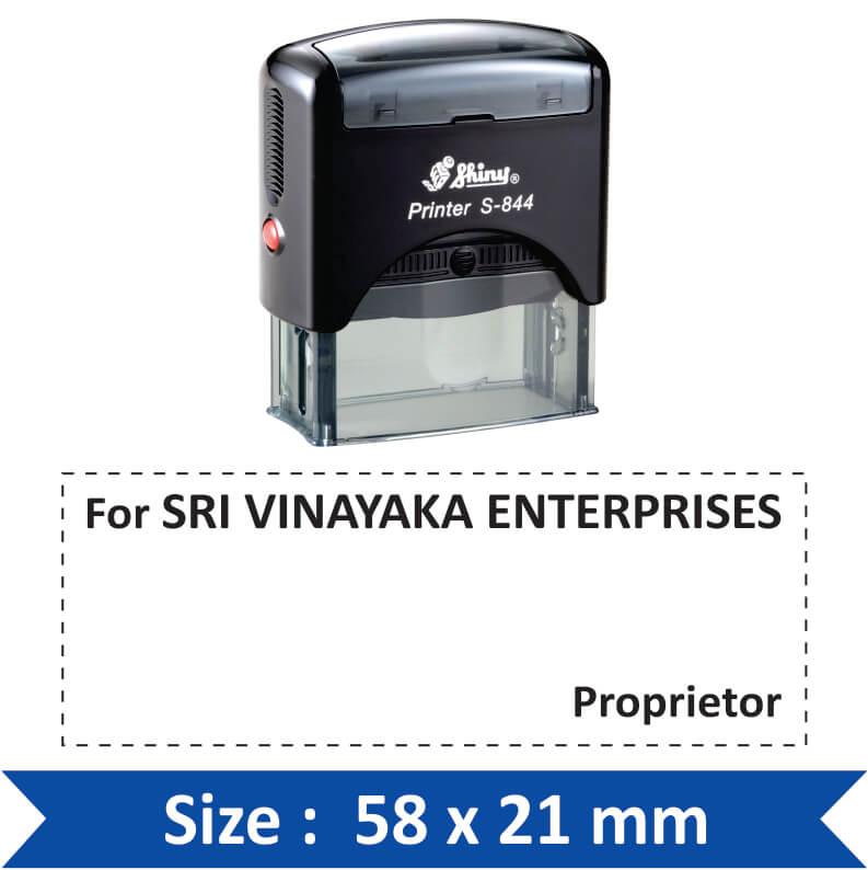 shiny proprietor stamp